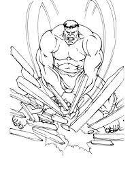 123 free hulk sheets, pages and pictures from album superheroes for kids and familly, to color online or to print out. 25 Best Hulk Coloring Pages For Kids Visual Arts Ideas