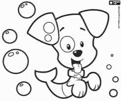 Bubble Puppy Een Vis Puppy Kleurplaat Kleurplaten Bubble