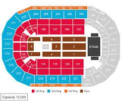 Mandalay Bay Event Center Detailed Seating Chart Sports Events 365 Macklemore Las Vegas Nv Usa Mandalay