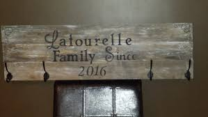 Cottage Coat Rack Extraordinary PERSONALIZED COAT RACKSignMud Room Coat RackCottage Coat Etsy