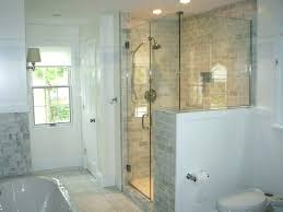 inexpensive shower wall options with half glass traditional metal cabinet and galvanized walls diy tin galvanized shower walls
