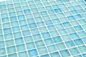 turquoise glass tile iridescent glass tile in a and aqua blue color installed with translucent grout turquoise glass tile