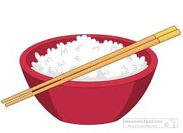 bowl of rice clip art. Fine Rice Rice Bowl Clipart Search And Of Clip Art Clipart Library
