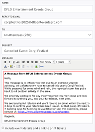 Sample Doctors Note For Travel Cancellation How To Write An Event Cancellation Email Newoldstamp