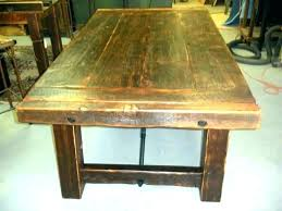 dining table made from reclaimed wood reclaimed kitchen table dining table made from reclaimed wood reclaimed