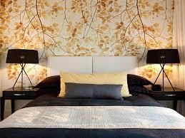 Classy Oriental Bedroom Wallpaper