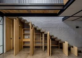 Niche Design Architects Delfino Lozanos Rr House Features An Under Stair Larder
