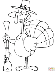 Pilgrim Hat Coloring Page Thanksgiving Pilgrim Hat Color Symbol ...