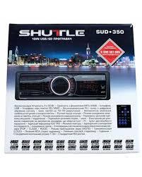 Купить <b>Автомагнитола</b> Shuttle SUD-350 корпус <b>черного цвета</b> ...