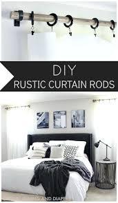 Curtain Rod Alternatives Best 20 Rustic Curtain Rods Ideas On Pinterest Rustic Curtains