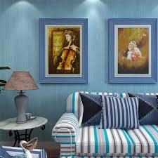 Beibehang Effen Streep Behang Woonkamer Tv Achtergrond Muur Decor 3d