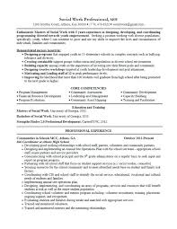Sample Social Worker Resume Work Summary For Resume Job Resume