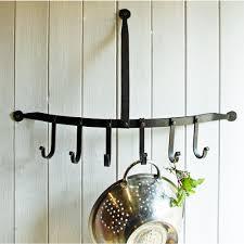 bles curved pan utensil rack