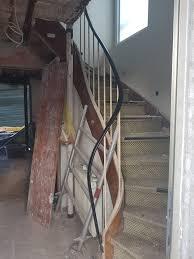 Edelstahl handlauf weiß pulverbeschichtet für innen u. Treppengelander Austauschen
