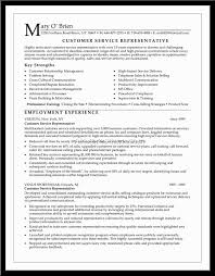 rep resume objective job description customer service representative resume objective customer service representative resume