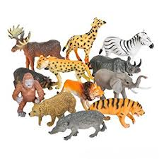 plastic zoo animals toys. Delighful Plastic 12 Realistic Animal Toy Figures By Spout U2013 Educational Toys Zoo Animals  Preschool Intended Plastic Animals Toys G
