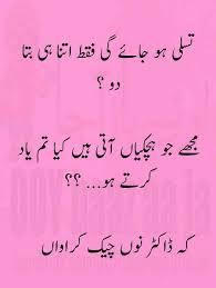 Urdu In Funny – Poetry Jokes