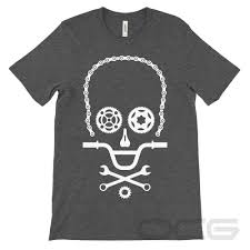 <b>Men's</b> Cycling <b>Skull</b> Cycling T-Shirt – Online <b>Cycling Gear</b> – ree ...