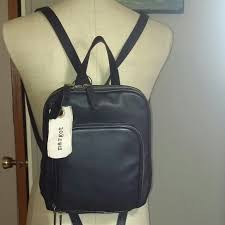 new margot black leather backpack middle