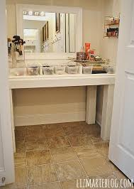 diy gl top vanity desk directions on how to make your own at lizmarie