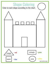 Small Picture Free printable shape coloring printable Homeschool PreSchool