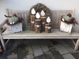 Adventskranz Für Draußen Diy Kerzen Natural Christmas