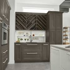 modern kitchen with diy pantry cabinet plans using grey color ideas