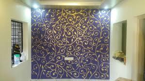 painting stencil designer walls