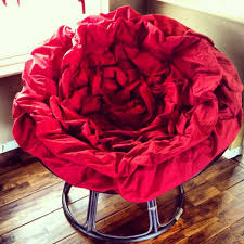 love my red rose papasan cushion