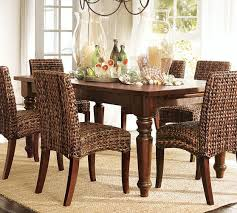 pottery barn sumner extending dining table rustic pine rustic mahogany stain pottery barn 4th of
