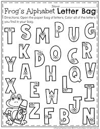 Kindergarten Letter Recognition Worksheets Planning Playtime