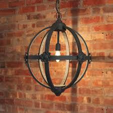 inch orb chandelier restoration hardware look alike lighting foucaults crystal iron 6light smoke foucault lights inchw