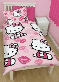 kids childrens girls character single duvet cover pillowcase bedding sets choice of designs