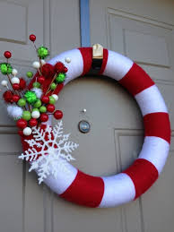 Candy Cane Wreath DIY Day 10 12 DIYs Of Christmas Candy Cane Wreath Christmas Craft