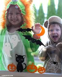 love halloween window decor: halloween window clings decor kids halloween window clings kids halloween window clings children halloween window clings cricut