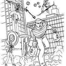 The Amazing Spiderman Online Coloring Pages Hellokidscom