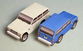 Foldable Paper Car Papercruiser Foldable Model Vehicles Build Your Own Fleet Of
