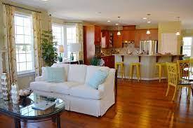 how to decorate your open floor plan