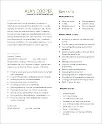 Administrative Assistant Job Summary Resume Best Of Resume For Office Assistant Construction Administrative Assistant