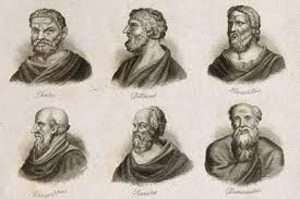 Resultado de imagen de filósofos presocráticos