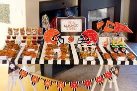 super bowl office party ideas. super bowl decorations improbable ultimate party decor for the sports fanatic dining room office ideas o