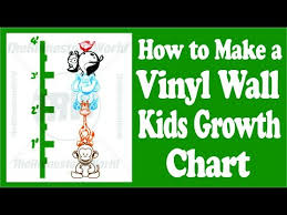Vinyl Growth Chart Creating A Custom Kids Animal Growth Chart Using Fdc Wall Vinyl And A Vinyl Cutter