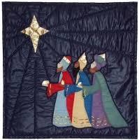 Nativity Quilt Pattern SCN-1009 (advanced beginner, wall hanging) & We Three Kings Quilt Pattern SCN-1010 Adamdwight.com