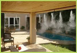 patio mist cooling system