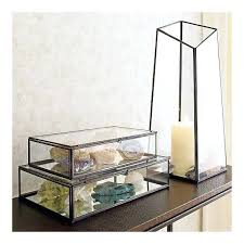 glass display box i already have an amethyst geode and a quartz cer so i will glass display box