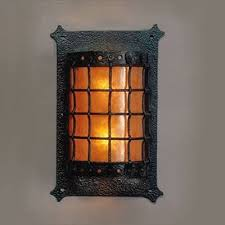 cottage outdoor lighting. mica lamp company vintage black iron outdoor sconce authentically detailed in forged construction is heavy weight with abundant hammer fire place cottage lighting