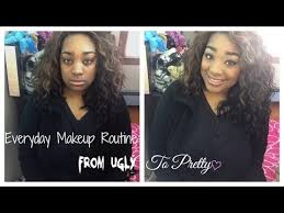 ugly to pretty makeup transformation challenge daily