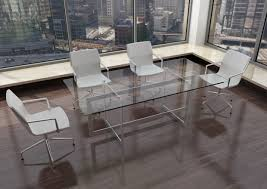 modern glass steel conference table ambience dora pictures on mesmerizing small top room tables frosted round