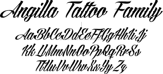 Fonts For Tattoos Letter Fonts Tattoos 4 Best Tattoos Ever Pertaining To Tattoo