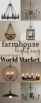 styles of lighting. farmhouse lighting at cost plus world market updated styles of t